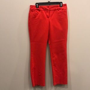 New York & Co red pants size 10P